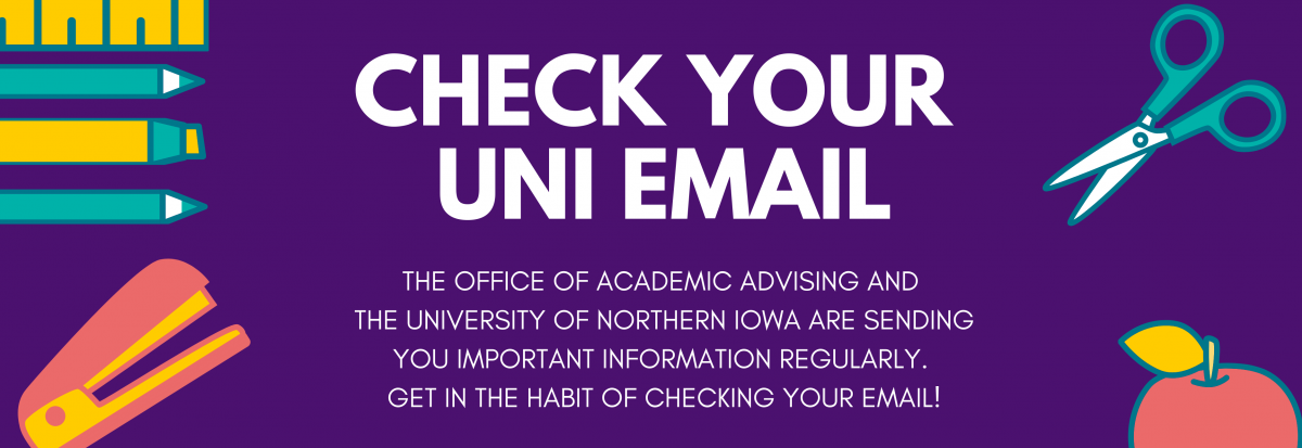 Check Your UNI Email