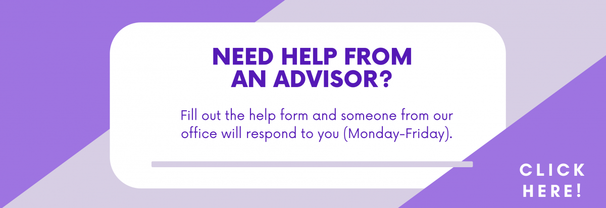 Need advising help? Academic Advising can help answer your questions.