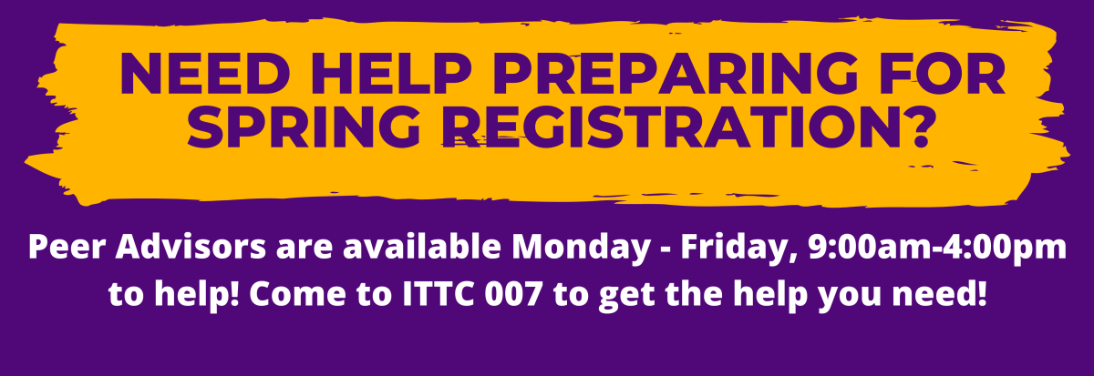 Need registration help? Come to ITTC 007 for assistance!