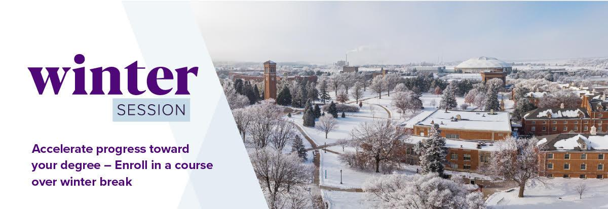 Learn about winter course offerings at UNI!